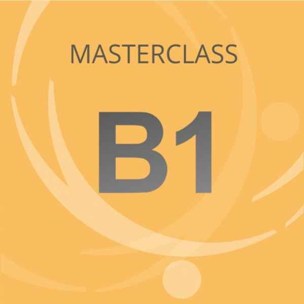 Masterclass B1
